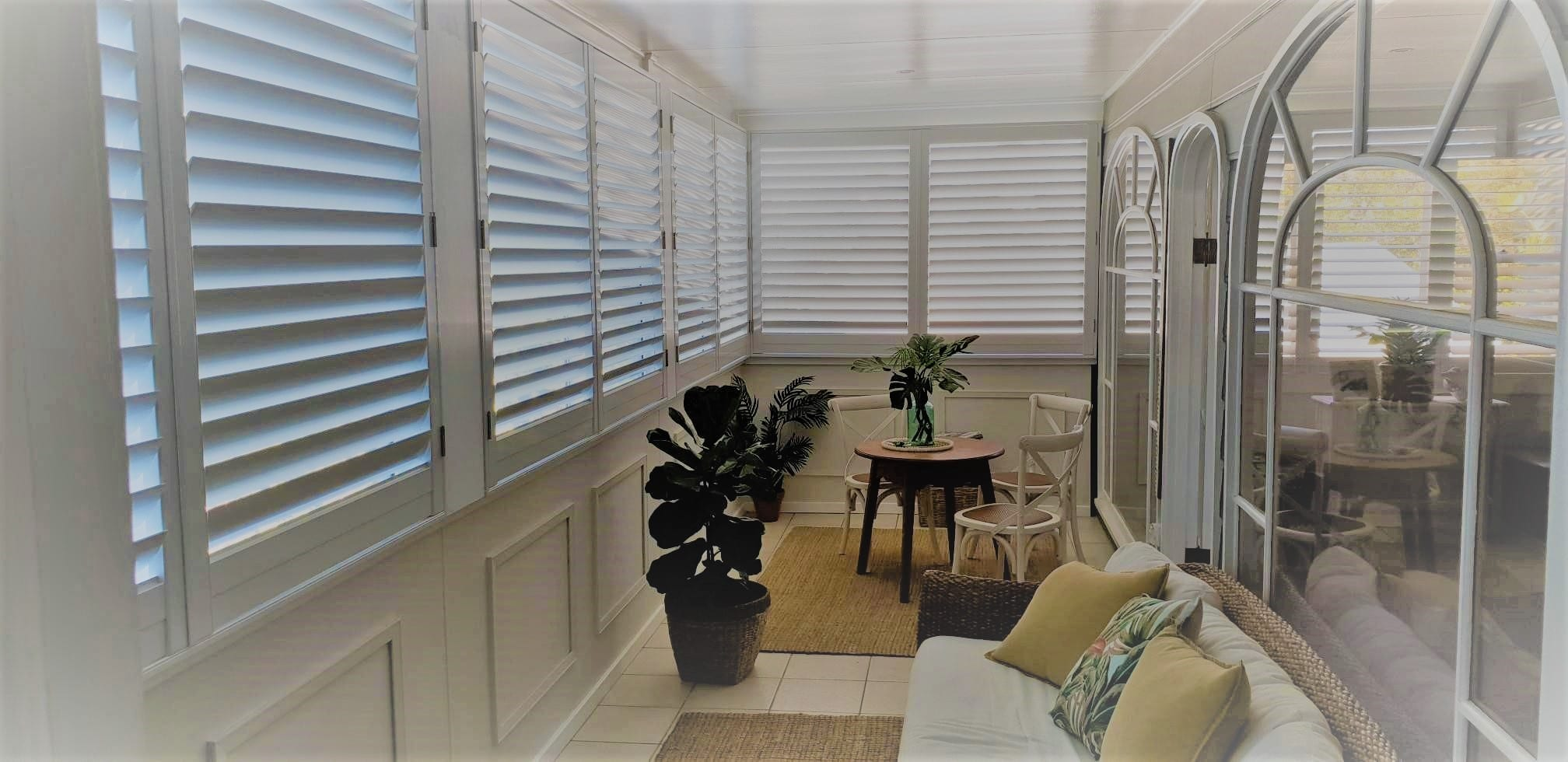 Allure Aluminium Plantation Shutters Kiana - Fusion Shutters and Blinds